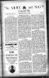 Army and Navy Gazette Saturday 05 February 1921 Page 1