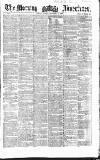 Morning Advertiser Friday 03 December 1858 Page 1