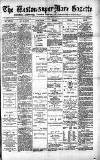 Weston-super-Mare Gazette, and General Advertiser Saturday 15 March 1884 Page 1