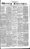 Chepstow Weekly Advertiser Saturday 31 January 1857 Page 1