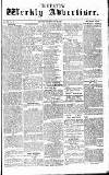 Chepstow Weekly Advertiser Saturday 28 February 1857 Page 1