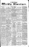 Chepstow Weekly Advertiser Saturday 07 March 1857 Page 1