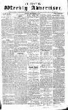 Chepstow Weekly Advertiser Saturday 12 September 1857 Page 1