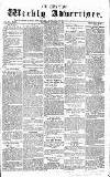 Chepstow Weekly Advertiser Saturday 31 October 1857 Page 1