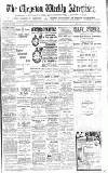 Chepstow Weekly Advertiser Saturday 19 May 1900 Page 1