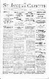 St James's Gazette Thursday 22 June 1893 Page 1