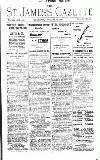St James's Gazette Thursday 18 January 1900 Page 1