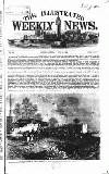 Illustrated Weekly News Saturday 12 June 1869 Page 1