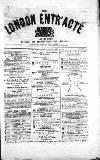 London and Provincial Entr'acte