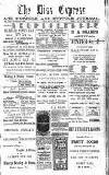 Diss Express Friday 15 January 1915 Page 1