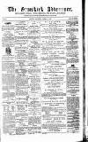 Ormskirk Advertiser Thursday 29 October 1857 Page 1