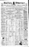 Banbury Advertiser Thursday 17 July 1856 Page 1