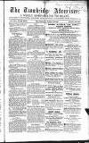 Wiltshire Times and Trowbridge Advertiser Saturday 14 July 1855 Page 1