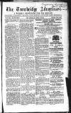 Wiltshire Times and Trowbridge Advertiser Saturday 04 August 1855 Page 1