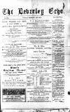 Beverley Echo Tuesday 04 September 1894 Page 1