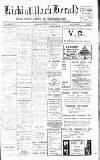 Kirkintilloch Herald Wednesday 05 February 1913 Page 1