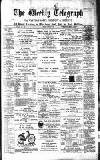 Waltham Abbey and Cheshunt Weekly Telegraph Friday 03 January 1896 Page 1