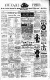 Aberdare Times Saturday 02 February 1889 Page 1