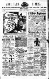 Aberdare Times Saturday 08 June 1889 Page 1