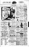 Aberdare Times Saturday 21 December 1889 Page 1