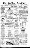 Dudley Guardian, Tipton, Oldbury & West Bromwich Journal and District Advertiser Saturday 25 July 1874 Page 1
