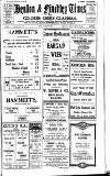 Hendon & Finchley Times Friday 22 January 1926 Page 1