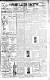 Kirkintilloch Gazette Friday 01 December 1916 Page 1