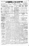 Kirkintilloch Gazette Friday 26 October 1923 Page 1