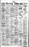 The Cornish Telegraph Thursday 01 September 1898 Page 1