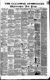 Galloway Advertiser and Wigtownshire Free Press. Thursday 14 January 1864 Page 1