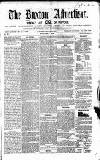 Buxton Advertiser Friday 04 April 1856 Page 1