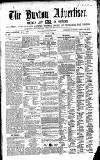 Buxton Advertiser Friday 06 June 1856 Page 1