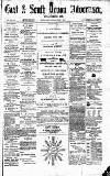 East & South Devon Advertiser. Saturday 11 July 1874 Page 1