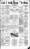 East & South Devon Advertiser. Saturday 22 August 1874 Page 1