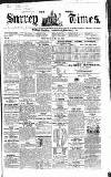 West Surrey Times Saturday 28 June 1856 Page 1