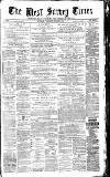 West Surrey Times Saturday 03 October 1874 Page 1