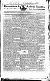 Roscommon & Leitrim Gazette Saturday 25 May 1822 Page 1