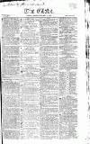 Globe Saturday 17 January 1818 Page 1