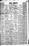 Globe Friday 09 January 1863 Page 1