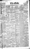 Globe Wednesday 11 March 1863 Page 1