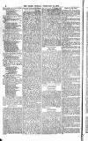 Globe Monday 14 February 1876 Page 2