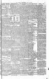 THK GLOBE, WEDNESDAY, JULY 8, 1885. GREAT FIRE IN BERMONDSEY MONET MAI THIS MORNING.