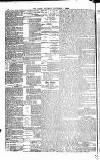 Globe Saturday 07 November 1885 Page 4