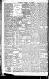 Globe Wednesday 21 July 1886 Page 4