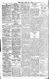 Globe Friday 02 May 1913 Page 4