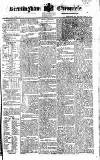 Birmingham Chronicle Thursday 24 February 1820 Page 1