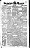 Birmingham Chronicle Thursday 06 April 1820 Page 1