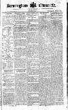 Birmingham Chronicle Thursday 27 April 1820 Page 1