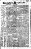Birmingham Chronicle Thursday 03 August 1820 Page 1