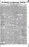Warwick and Warwickshire Advertiser Saturday 16 January 1836 Page 1